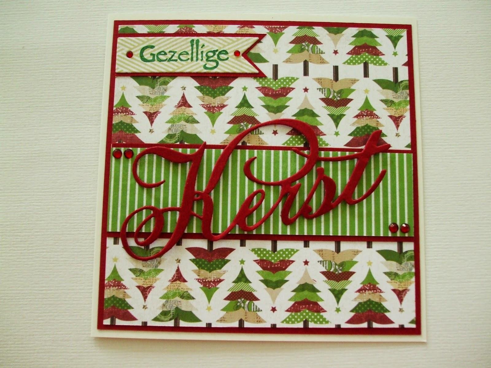 Sabine S Hobbyblog Gezellige Kerst