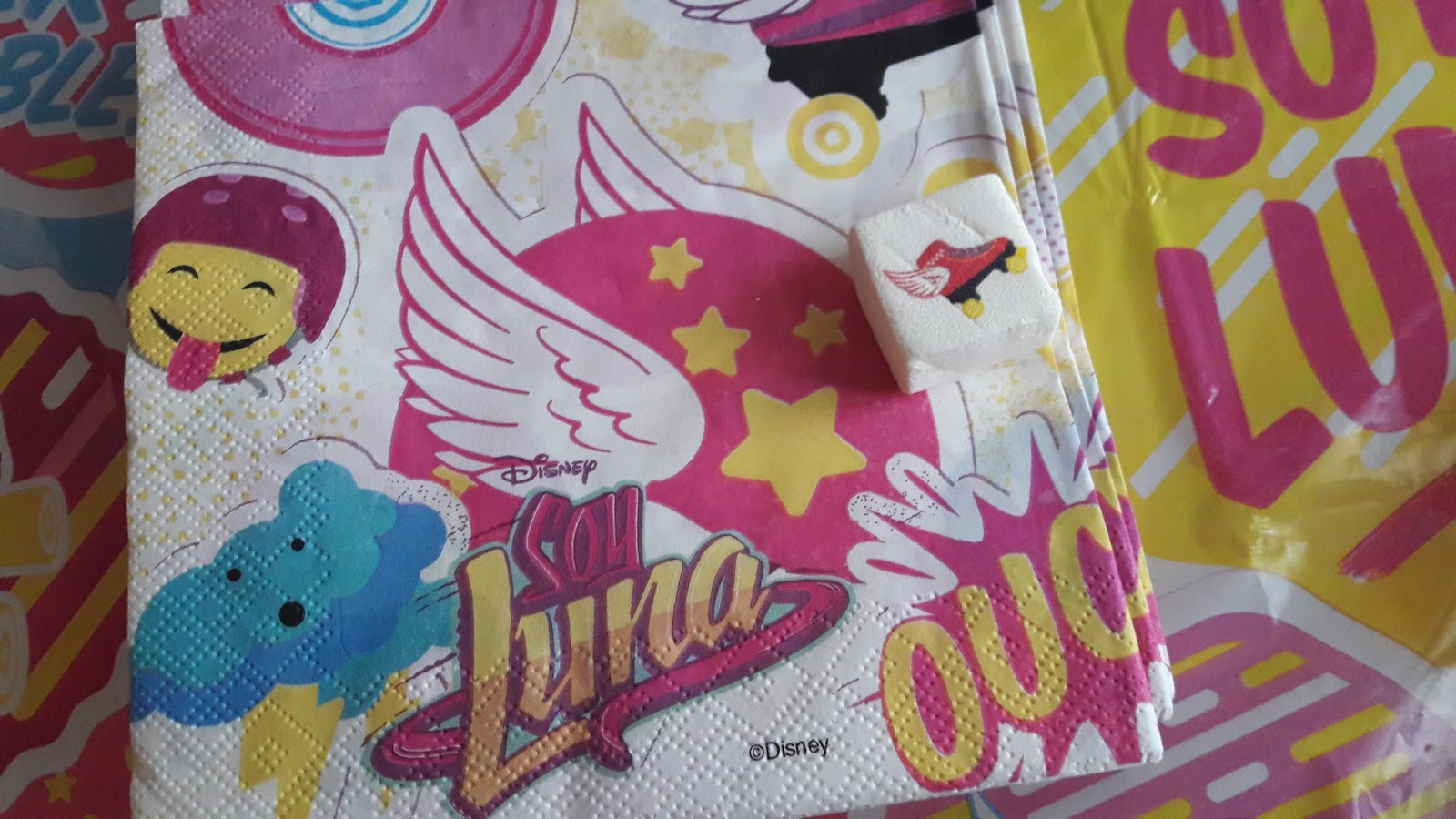 Decor Pour Gateau Soy Luna