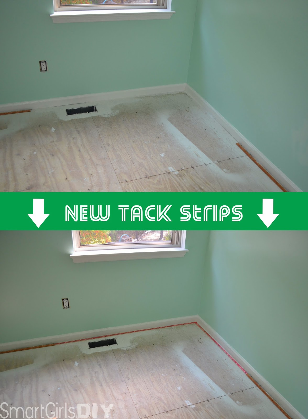 Install Tack Strips