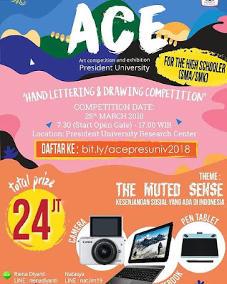 Art Competition & Exhibition 2018 Univ. President