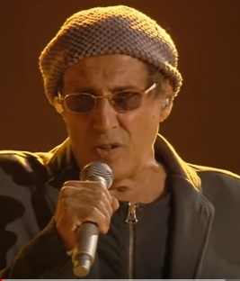 Adriano Celentano on stage in 2012