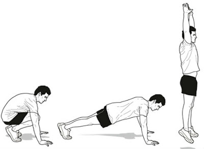 burn extra calories from burpees workout