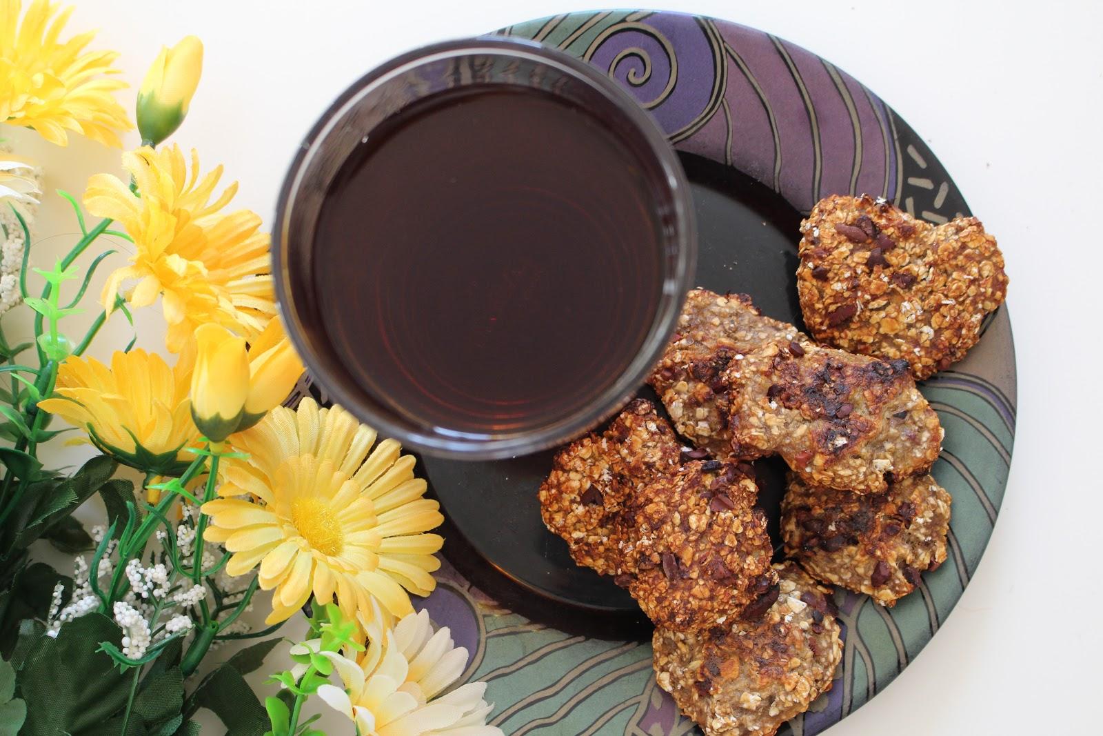 Aprende a fazer bolachas saudáveis com pepitas de chocolate em casa