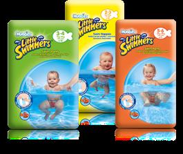 Logo Mamma : con Huggies Little Swimmers il tuo bambino nuota e tu vinci!
