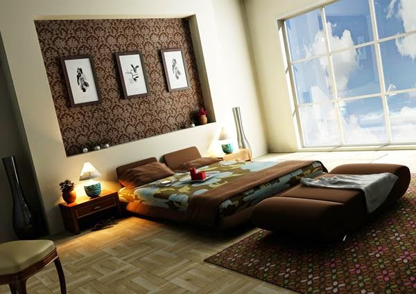 Contemporary Bedroom Decorating Ideas and Designs 2