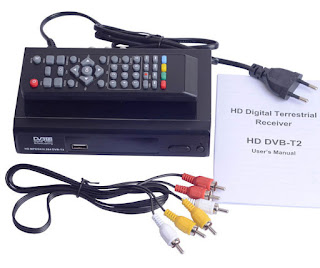 DECODER DIGITALE TERRESTRE DVB-T2 HD HDMI RCA AV