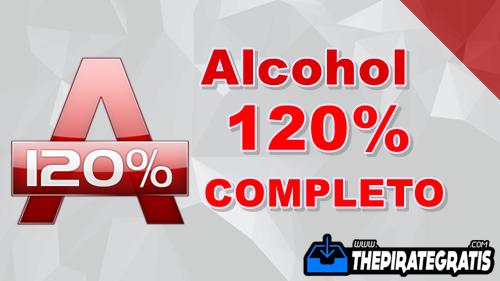 Download Alcohol 120% 2.0 + Crack PT-BR Completo