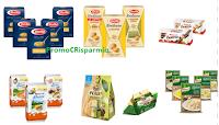 Logo TiFrutta e ExtraSconti: coupon Barilla pasta per brodo,lasagne,prodotti Kinder, Parmareggio e non solo