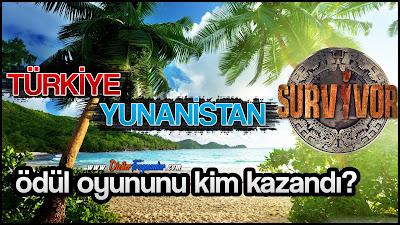 Survivor, Survivor 2019, Survivor Türkiye Yunanistan, Ödül Oyunu, Ödül Oyununu Kim Kazandı, 2 Şubat Ödül Oyunu,