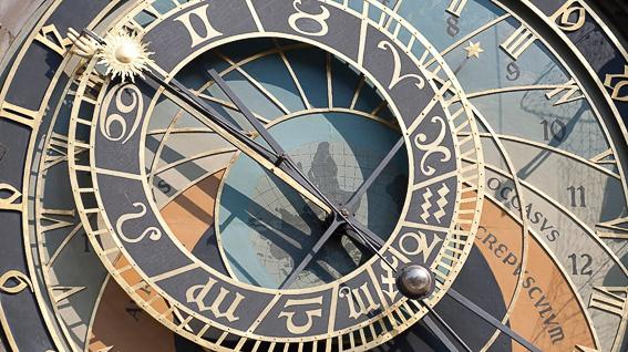 Mapa celeste del reloj de Praga