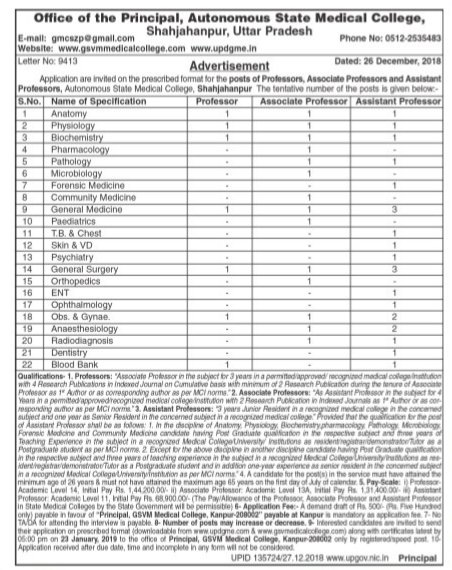 Shahjahanpur-Govt-Medical-College-Uttarpradesh-recruitment-tngovernmentjobs-2