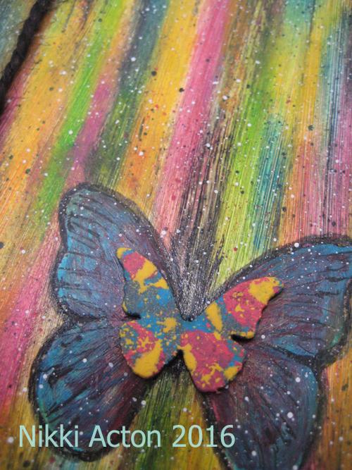 Addicted to Art - Distress Crayons and Distress Paint Cards
