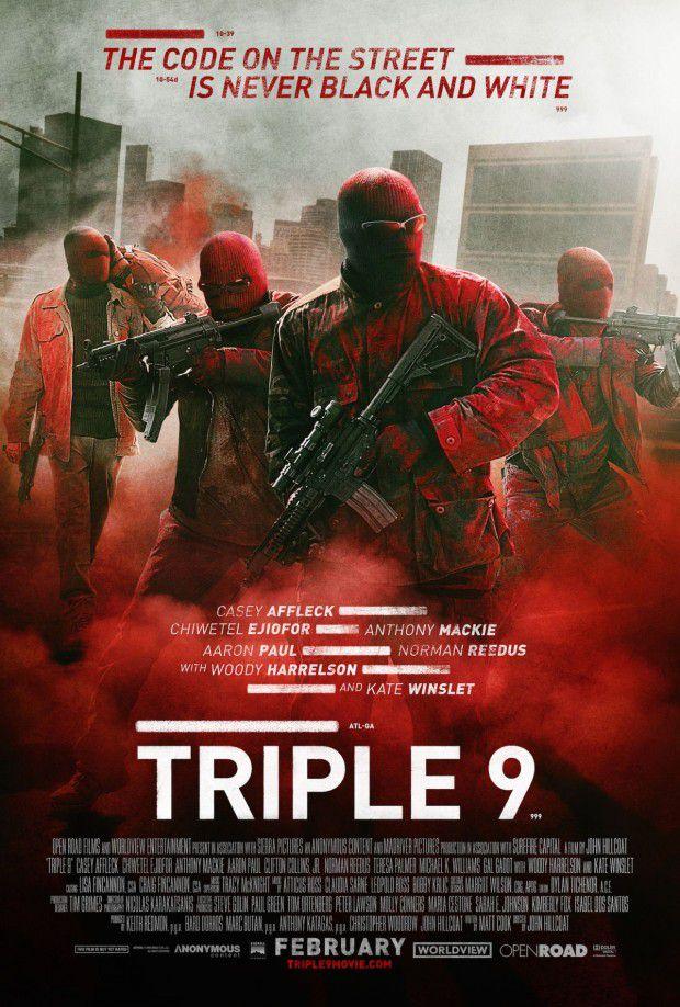 Triple 9 (2016) ทริปเปิ้ล ไนน์ ยกขบวนปล้น [HD][พากย์ไทย]
