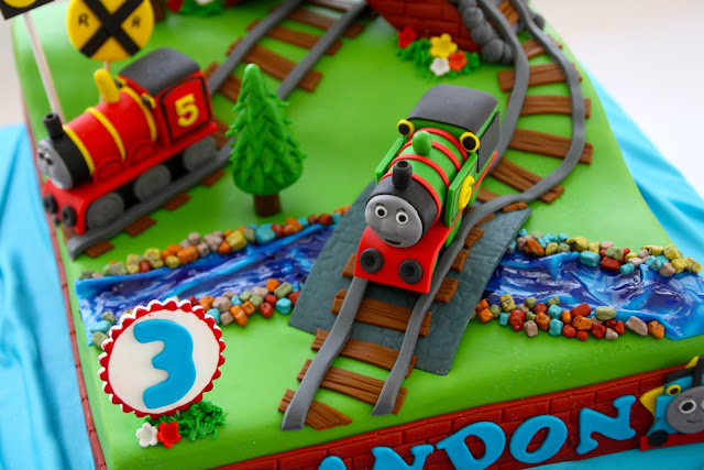 Celebrate With Cake Thomas The Tank Engine Cake