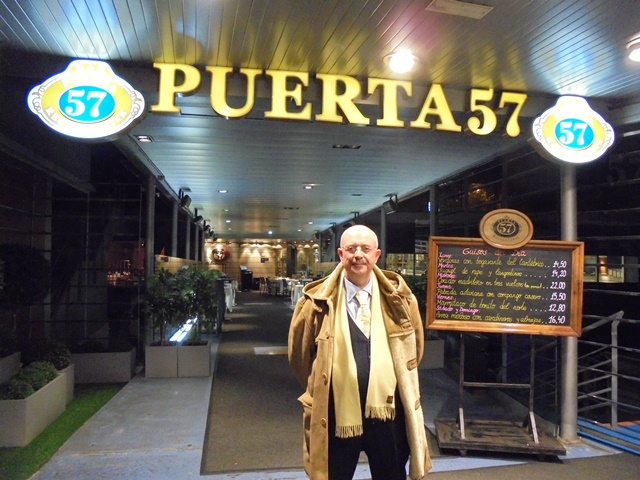 La tavolozza del gusto di dracopulos giorgio a puerta 57 for Puerta 53 santiago bernabeu