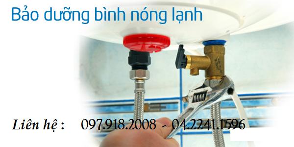 Bảo dưỡng thay thanh lọc cặn bình nóng lạnh tại Hà Nội