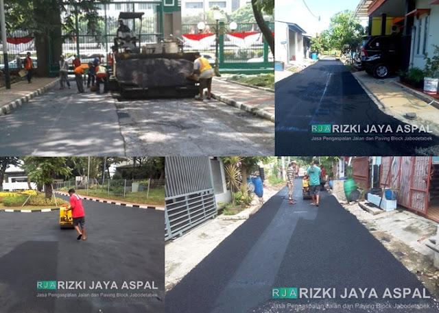 Kontraktor Aspal Hotmix Jabodetabek Jawa Barat, Jasa Pengaspalan Jakarta Bogor depok tangerang bekasi Banten
