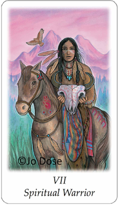 vision quest tarot Spiritual Warrior