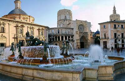 Old City Centre in Valencia