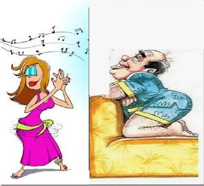 للمتزوجين فقط: علميا لن تتخيل فوائد الرقص امام الزوج على العلاقة الحميمة