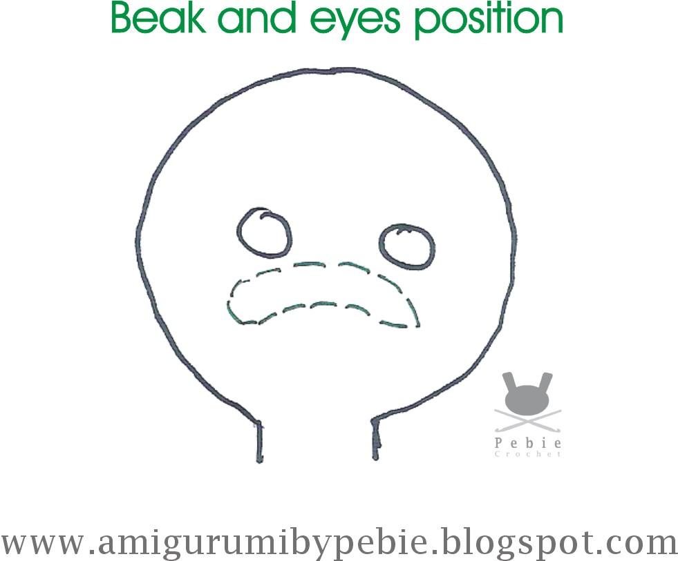 Funny Amigurumi by Pebie: Parrulo Duck's Pattern