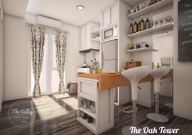Desain Interior Kitchen Set Minimalis02 - The Valley Interior Design