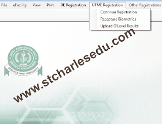 utme neco result upload step