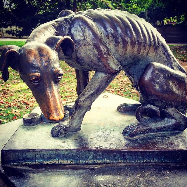 La escultura del zoológico de Barcelona que te encogerá el corazón