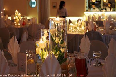 dekoracja weselna vivat mierzyn