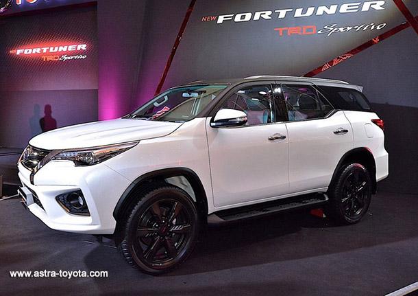 Harga Toyota All New Fortuner 2016 di Jakarta