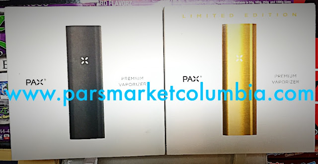 PAX and PAX Limited Edition Gold available at Pars Market Columbia Howard County Maryland 21045