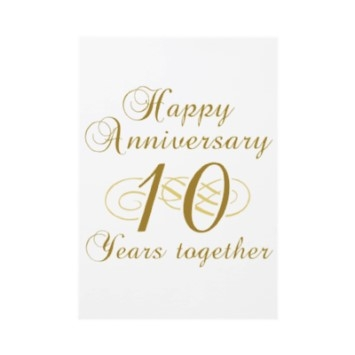 Our first meeting anniversary
