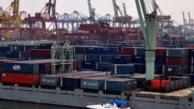 Enam Bulan, Neraca Perdagangan RI Defisit US$1,03 Miliar