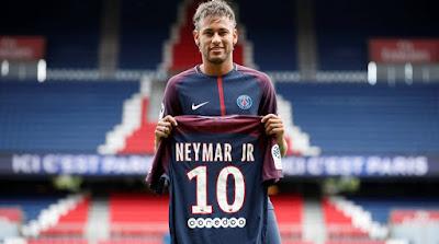 Perpindahan Pemain Bola Sepak Termahal Dunia, Neymar Pemain Bola Sepak Termahal Dunia, 50 Pemain Bola Sepak Termahal Dunia 2017, Pemain Termahal Dunia 2017, 9 Pemain Bola Sepak Termahal Dunia, 10 Pemain Termahal Dunia , Paris Saint-Germain (PSG), Neymar, Barcelona, Gaji Pemain Bola Sepak Termahal Di Dunia , Paris Saint-Germain (PSG)