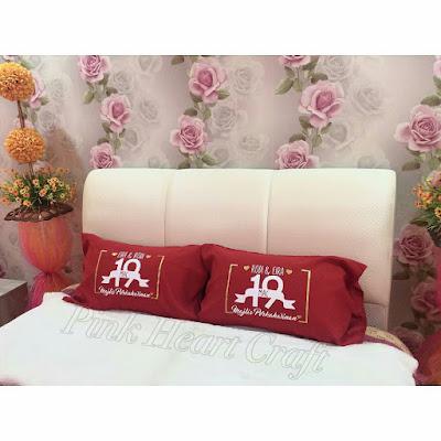 sarung bantal custom-made exclusive