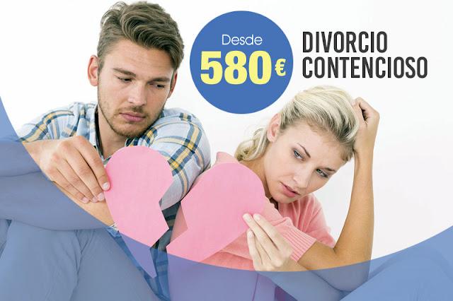 Divorcio contencioso en Barcelona