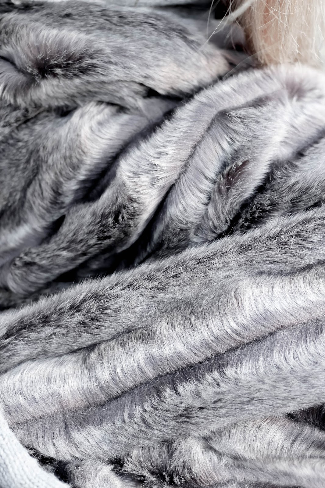 Helen Moore Grey Comforter Throw Amara