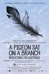 Poster A Pigeon Sat on a Branch Reflecting on Existence