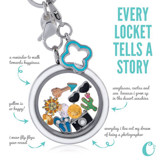 Origami Owl Living Lockets Unveiled - How Many Charms Can They ... | 559x558