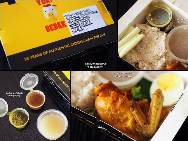 YUK! BEBEK Indonesian Food Delivery Services Direct To Your Doorsteps