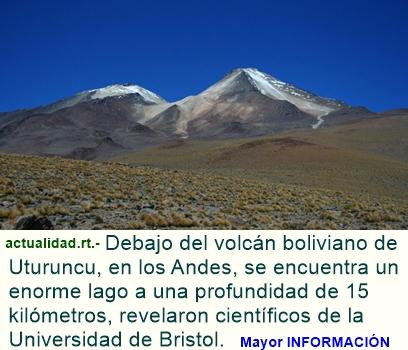 Descubren un fenómeno inesperado que reposa a 15 kilómetros bajo un volcán andino