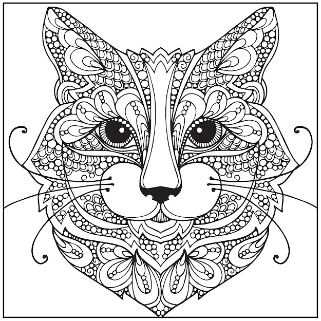 Amazon Wild About Cats Adult Coloring Book With Bonus Relaxation Music  Cd Included Color With Music  Newbourne Media Books