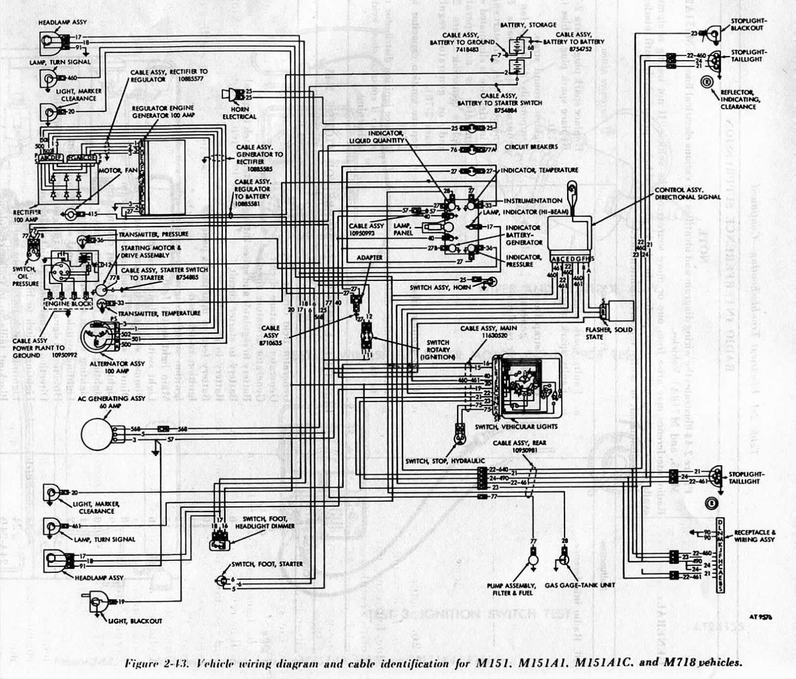 Ford Bantam Wiring Diagram