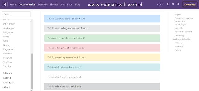 Free Download Website Bootstrap Offline Full Document
