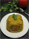 Cracked Wheat Tomato Bhath