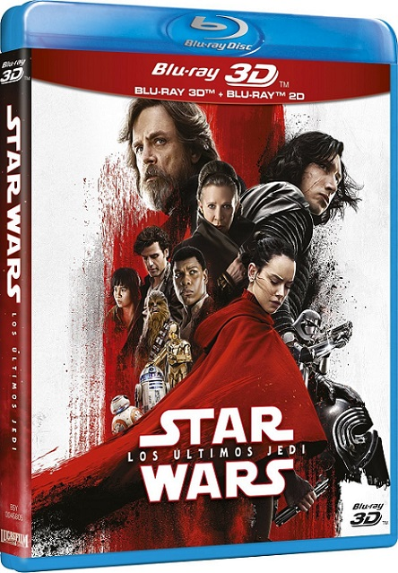 Star Wars: Episode VIII The Last Jedi 3D (Star Wars: Episodio VIII Los últimos Jedi 3D) (2017) m1080p BDRip 3D Half-OU 25GB mkv Dual Audio DTS-HD 7.1 ch