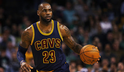LeBron James NBA top ten players