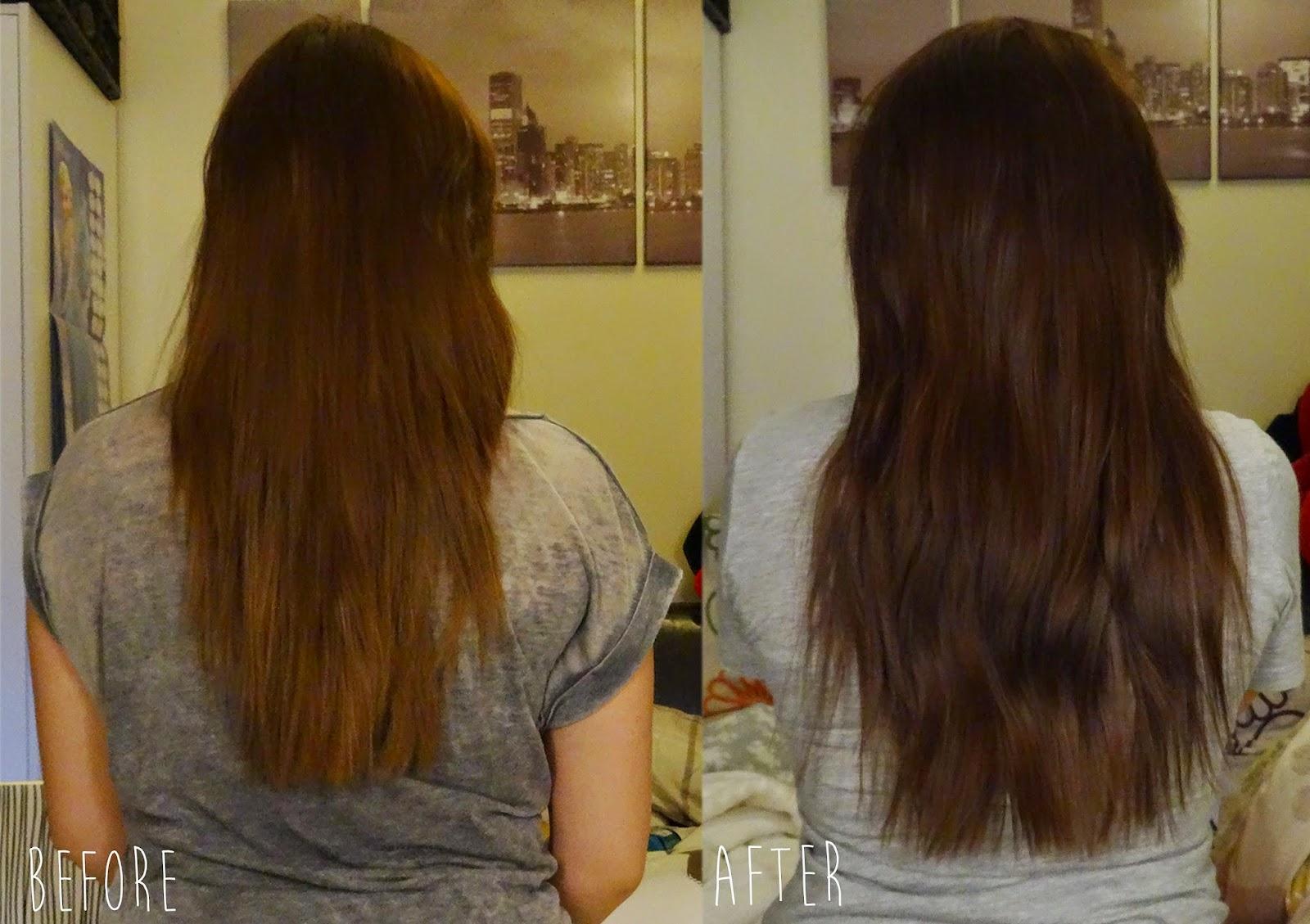 How I grew my hair 1 inch in 2 weeks  hellolaura x