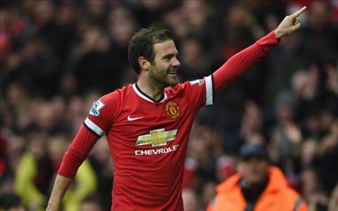 Juan Mata tỏa sáng trong màu áo MU