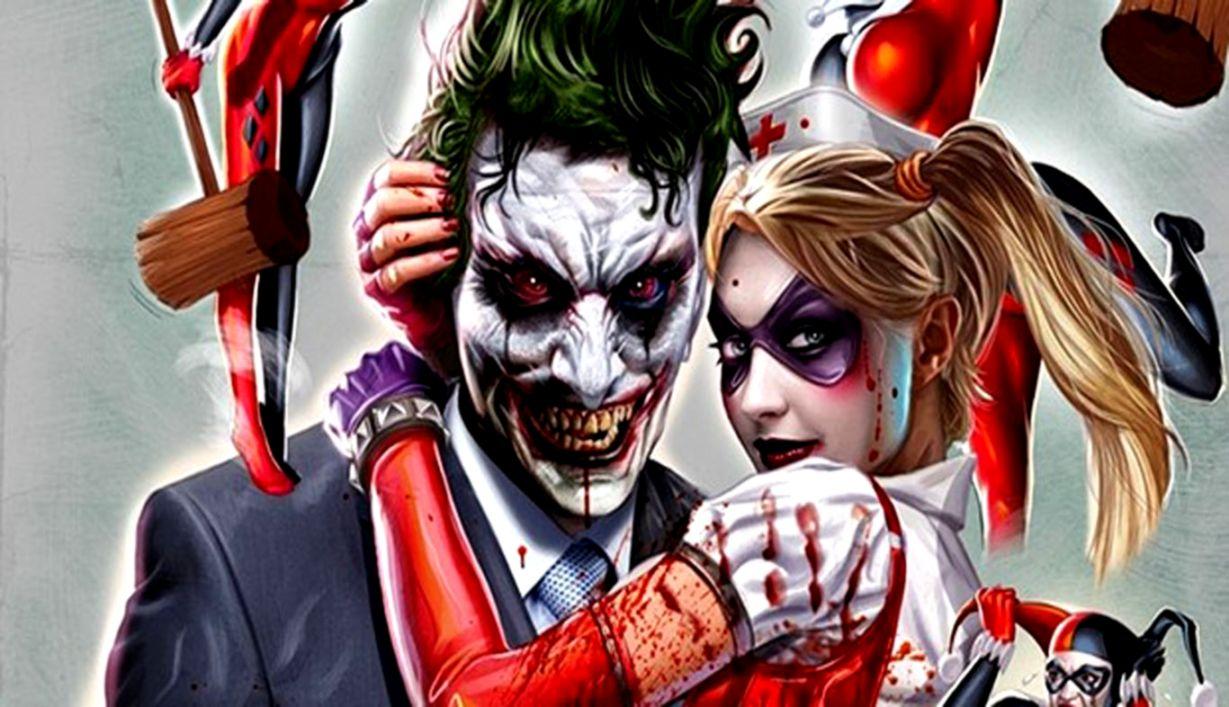Romantic Joker Couple Wallpaper Image Wallpaper Collections